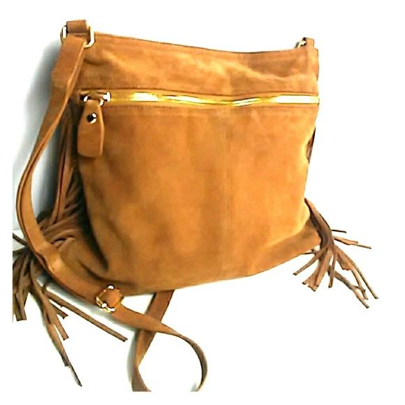 Margot bags genuine leather fringe bag brown suede poshmark jpg 580x580  Brown fringe bag 8dc99340a33b5